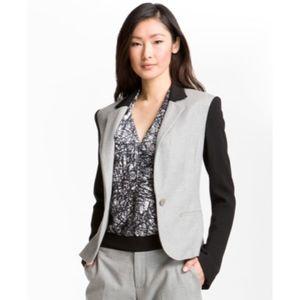 Rachel Roy Colorblock Cotton Blazer Jacket
